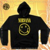 Bluza z kapturem NIRVANA smile