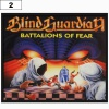 Naszywka BLIND GUARDIAN Battalions of Fear (02)