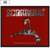 Naszywka SCORPIONS The Platinum Collection (12)