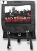 "Plecak kostka BAD RELIGION ""New Maps of Hell""    07"