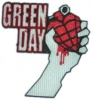 Prasowanka GREEN DAY logo